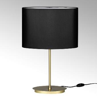 Denver table lamp stainless steel