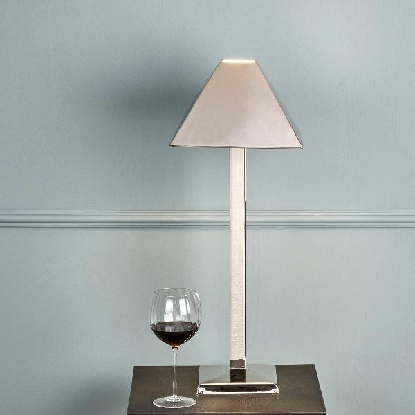 Palladio Table lamp nickel