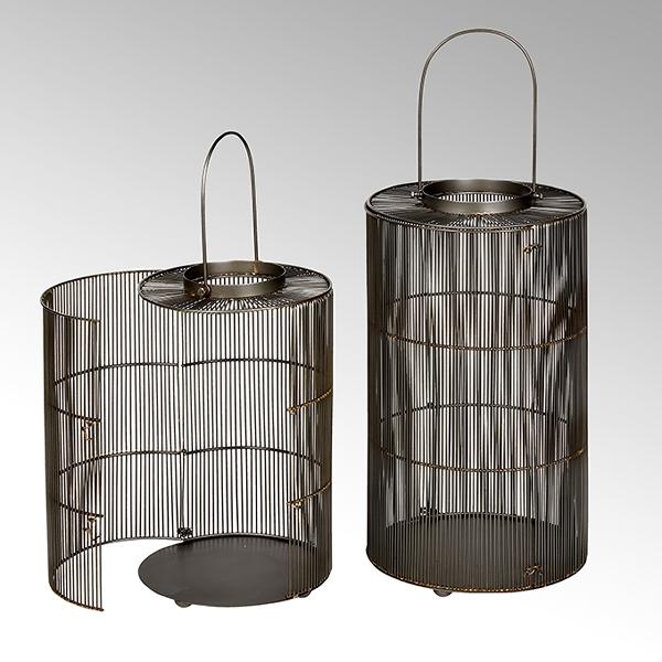 Kazumi lantern woven wire outdoor compatible