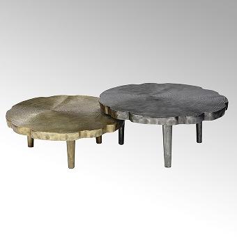 Toshiko coffee table aluminium casted small