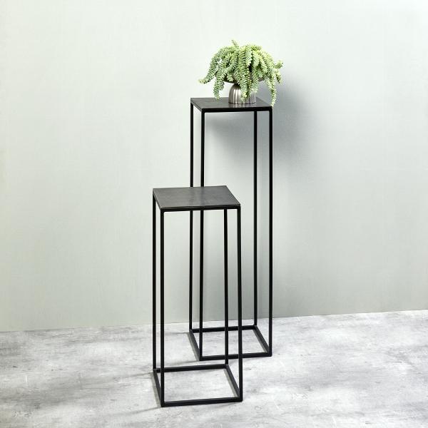 Dado pillar large epoxy stand aluminium