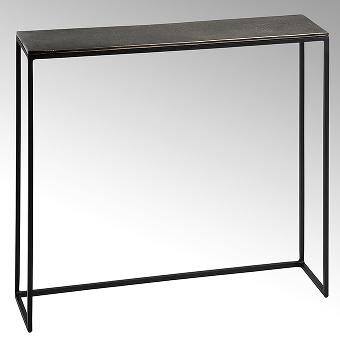 Maro side table epoxy stand aluminium