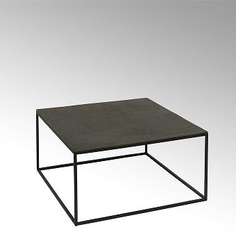 Dado coffee table epoxy stand aluminium