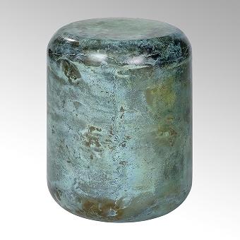 Jade Hocker/Beistelltisch Stahl
