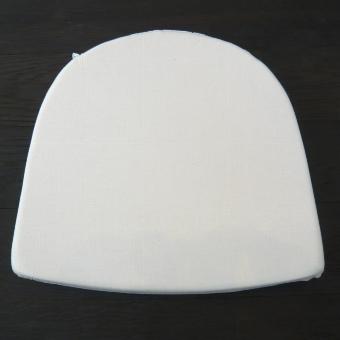 Weißpolster Sitz