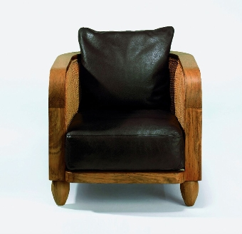 Lobby set-covers seat and back dark-brown