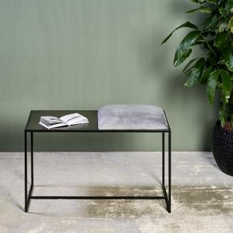 Leggero bench with cushion