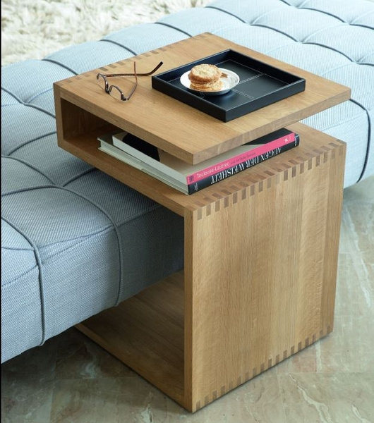 Deposito oiled table 44,5x44,5x63cm