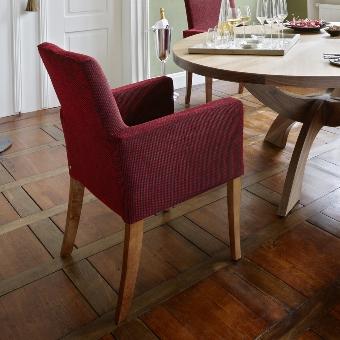 Andrew arm chair H93cm , legs: oak oiled