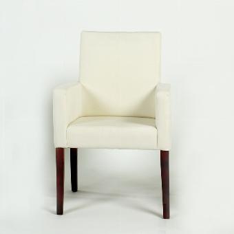 Andrew arm chair H93cm , legs: oak walnut colour