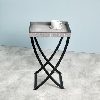 Spencer table-tray. ray skin imitation
