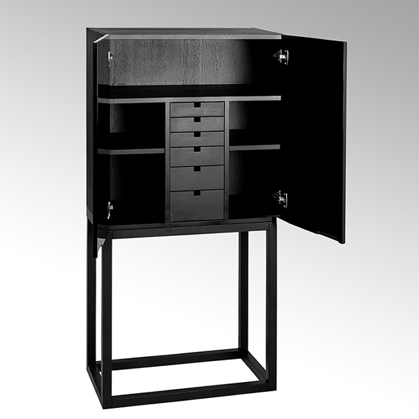 Mingkasa Bago cabinet solid oak body and stand,