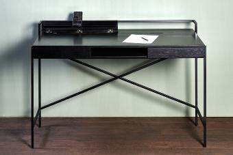 Derrick desk black 120 x 63 x 80,5 cm