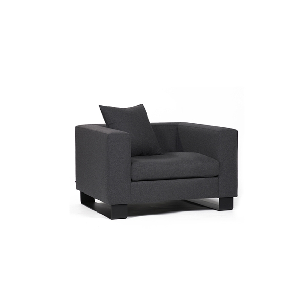 Marvin chair incl. 1 cushion for back 52x52cm