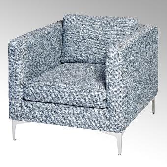 Corner, upholstered chair 77 cm,