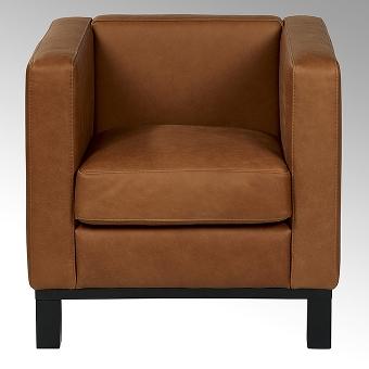 Bella armchair with white cushion 74x72x7o cm