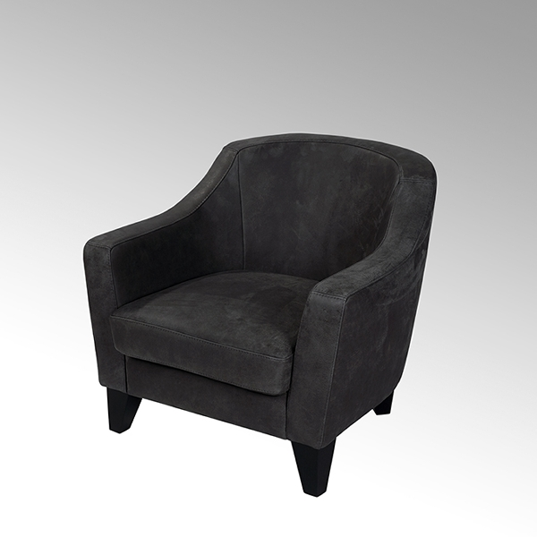 Ernest Cocktail chair with white cushion