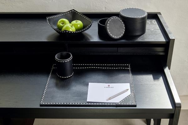 Brendan desk pad leather rectangle