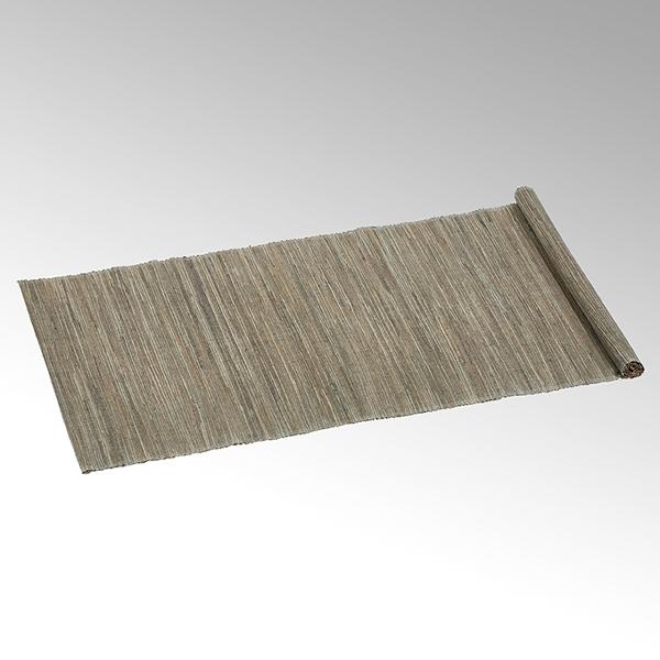 Narita tablerunner 50x150 cm light grey