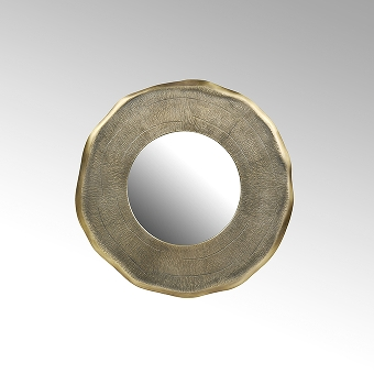 Siddharta mirror small aluminium