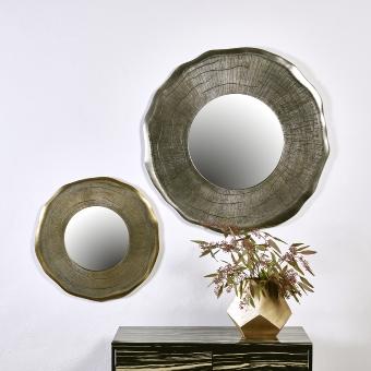 Siddharta Spiegel groß Aluminium