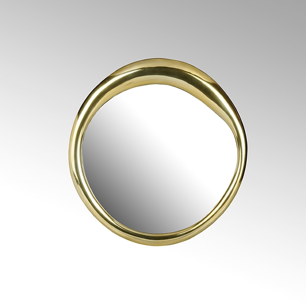 Bolla mirror small aluminium