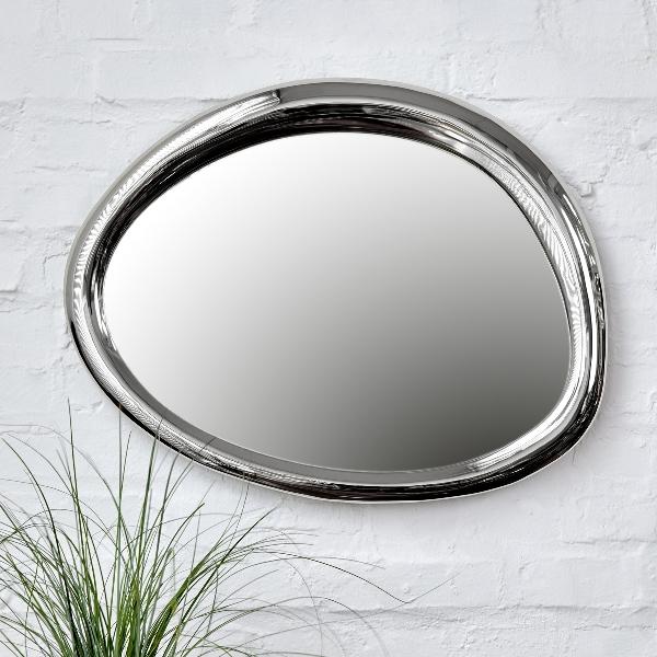Bolla mirror medium aluminium