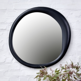 Bolla Spiegel groß Aluminium