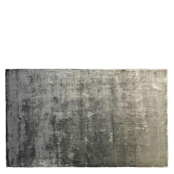 Edmonton rug 100% viscose, graphite