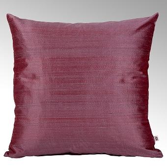 Seine cushion cover 100% silk mauve, 50x50cm