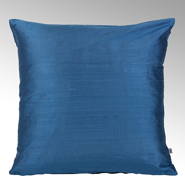 Seine cushion cover 100% silk ocean, 50x50cm