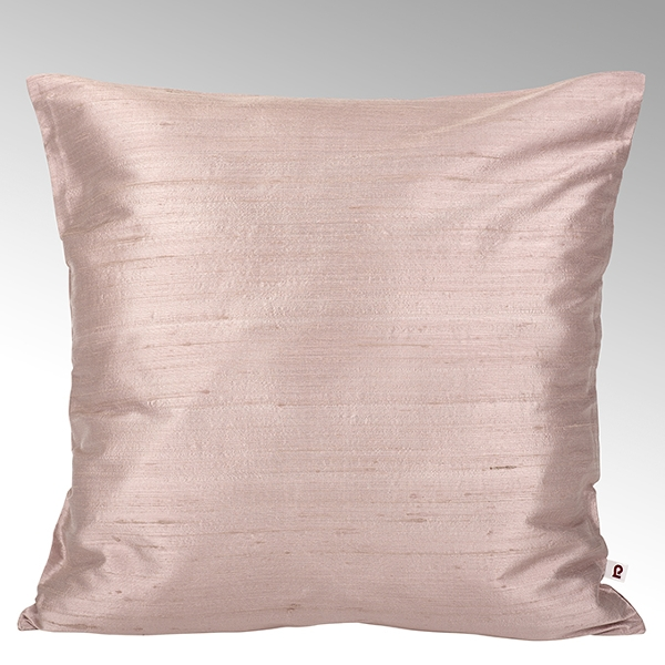Seine cushion cover 100% silk quarz, 50x50cm