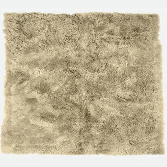 Taiga RUG, lambskin, beige 250x250cm