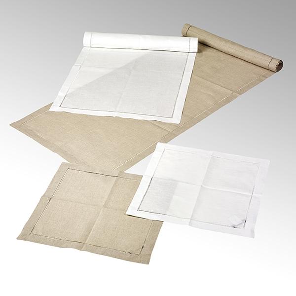 Padua , napkin white40x40 cm, 100 % linen