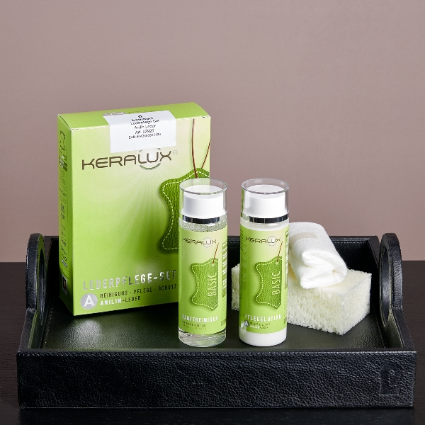 leather care set for anilin leather