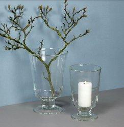 Gerona stormlight/vase H37,5 D24cm clear glass