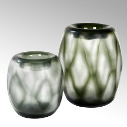 Bononi Vase Überfangglas