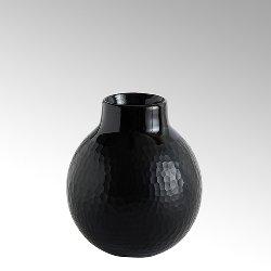 Borromini, vase opaque glass with cutting