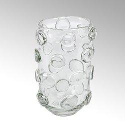 Jacobo glass vase clear
