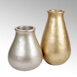 Sansibar vessel matt silver H 53 cm,  W 45 cm