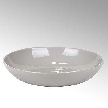 Piana bowl stoneware, grey, H6 D33cm