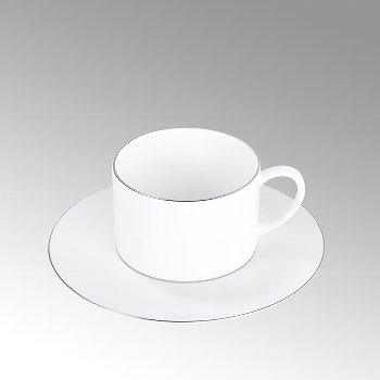 Serene, Tee-/Kaffeeuntertasse rund