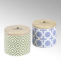 Ebba fragrance candle in vessel lavendel with lid
