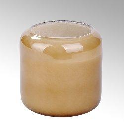 Emanuelle glass H 10,5 D 10,5 cm, caramel