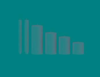 Stab-/Stumpenkerzen Durchmesser: 3cm