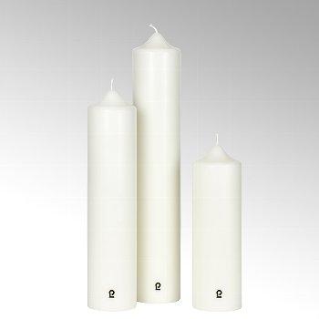 church candle, ivory, H 30 cm, D 9 cm