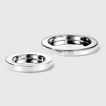 Sina candle holder nickel plated D12 for candels