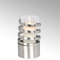 Spiral storm lantern aluminium medium