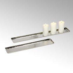 Darian candletray aluminium