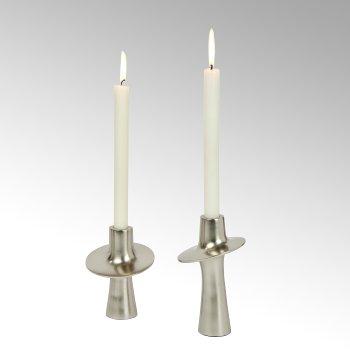 Proton Kerzenleuchter Aluminium